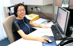 Elizabeth Chua, job placement officer with the Employment Support Programme at the Society for the Physically Disabled serves as a recruitment and career counselling consultant for job seekers with disabilities, Photo | Updates SPD